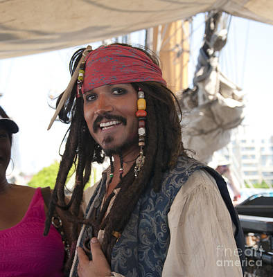 Photograph - the Laughing Pirate by Brenda Kean