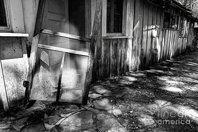 Abandoned Elkmont Wall Art - Photograph - The Laughter Has Faded by Michael Eingle