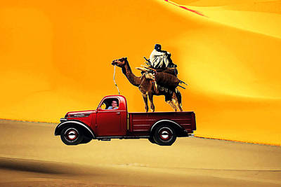 Laziness Digital Art - The Lazy Camel 1 by Bruce Iorio