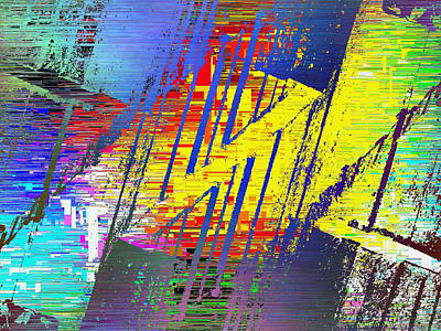 Freeway Digital Art - The Ledges Three Cubed by Tim Allen