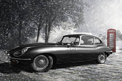 the legendary E-Type Art Print