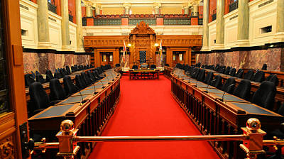 Photograph - The Legislature Victoria Bc by Lawrence Christopher