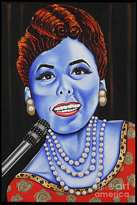 Painting - The Lena Horne by Nannette Harris