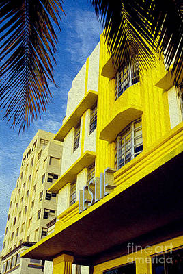 Miami Mixed Media - The Leslie by Jon Neidert