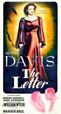 The Letter, Us Poster Art, Bette Davis Art Print