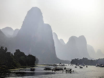 The Li River China Art Print