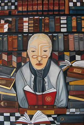 The Librarian Original by Karen Serfinski