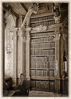 Photograph - The Library At Melk by Alan Toepfer