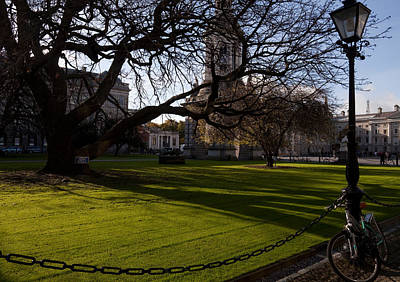 Moore Photograph - The Library Square, Trinity College by Panoramic Images