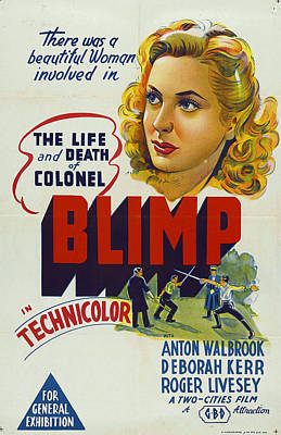 The Life And Death Of Colonel Blimp - 1943 Art Print by Georgia Fowler