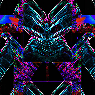 Digital Art - The Life Force by Coal
