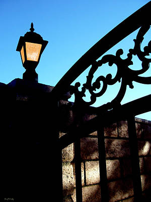 The Light And The Gate Art Print by Glenn McCarthy Art and Photography