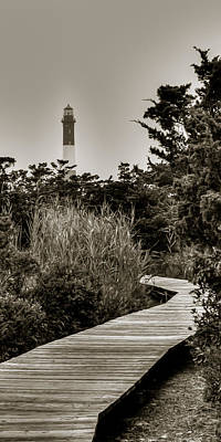 Photograph - The Light At Fire Island by David Hahn
