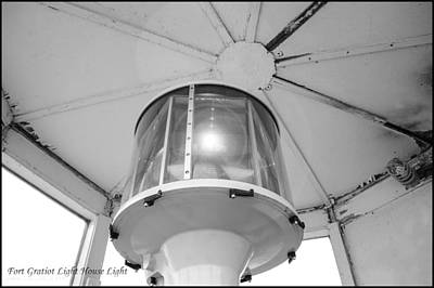 Photograph - The Light At Fort Gratiot Light House by LeeAnn McLaneGoetz McLaneGoetzStudioLLCcom