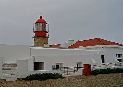 Photograph - The Light House On The Corner Of Europe by Kirsten Giving
