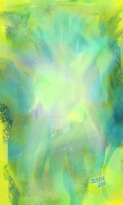 Painting - The Light by Jessica Wright