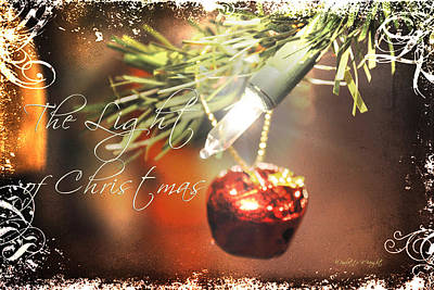 Photograph - The Light Of Christmas by Paulette B Wright