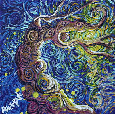 The Light Of Love Is All Art Print