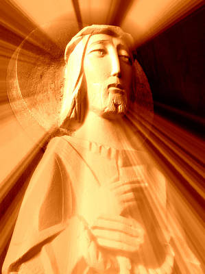 Prince Of Peace Photograph - The Light Of The World II by Aurelio Zucco
