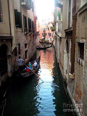 The Light Of Venice Art Print
