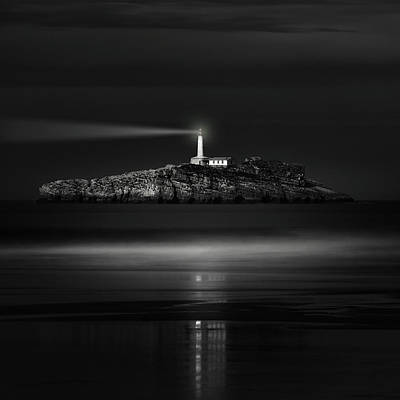 Lighthouse Photograph - The Light That Guides Us by Marco Antonio Cobo