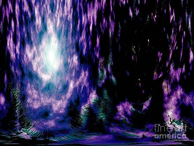 Digital Art - The Light Within by Annie Zeno