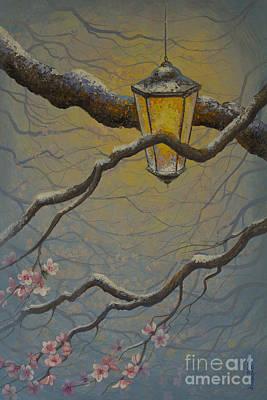 Sakura Painting - The Light by Yuliya Glavnaya