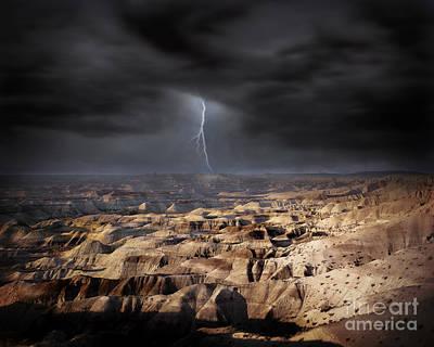 Photograph - The Lightning by Edmund Nagele