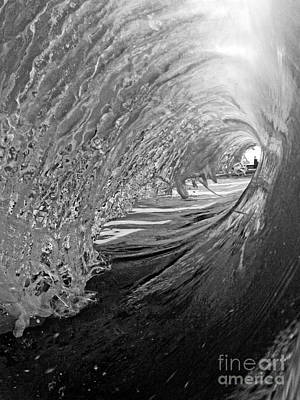Surfer Photograph - The Lighthouse At The End Of The Tunnel by Paul Topp