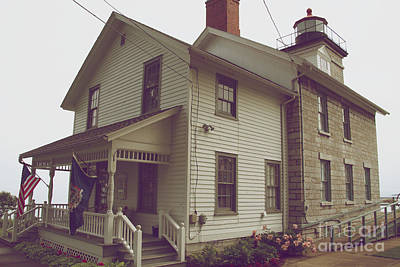 Photograph - The Lighthouse Museum by William Norton
