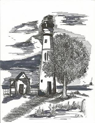 The Lighthouse Original by Philip Blanche