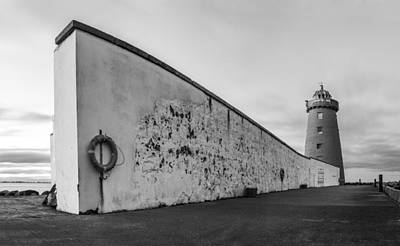 Photograph - The Lighthouse Wall by Semmick Photo