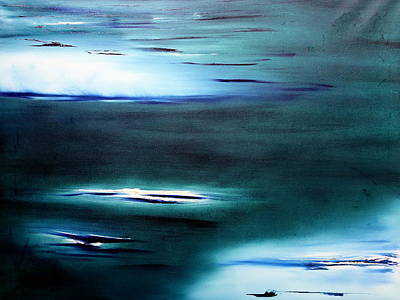 Painting - The Lights Beyond by David Hatton