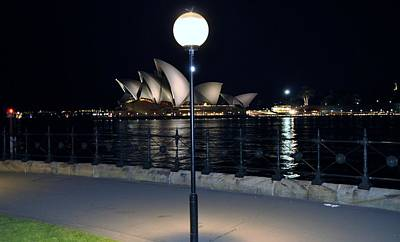 The Ligth And Operahouse Art Print by Stefan Pettersson
