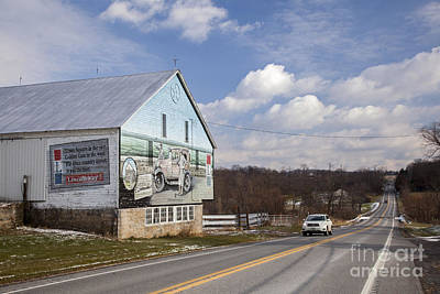 Photograph - The Lincoln Highway by Jim West