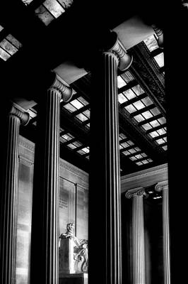 Photograph - The Lincoln Memorial by Celso Diniz