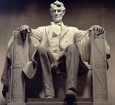 Republican Photograph - The Lincoln Memorial by Daniel Chester French