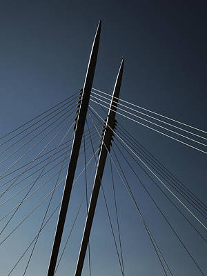 The Lines Of The Bridge 3 Art Print by Thomas Berger