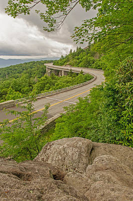 Photograph - The Linn Cove Viaduct On The Blue Ridge Parkway by Willie Harper