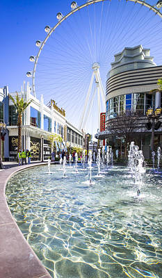 Digital Art - The Linq Las Vegas  by Susan Stone