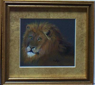 The Lion King Print by Catherine Swerediuk