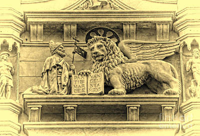 Photograph - The Lion Of Saint Mark IIi by Lee Dos Santos