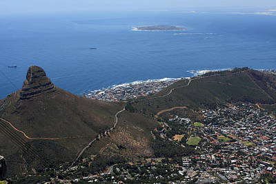 Photograph - The Lions Head Cape Town by Aidan Moran