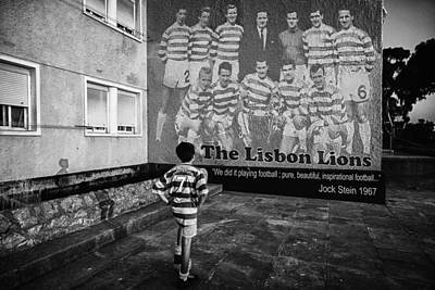 The Lisbon Lions Art Print by Donovan Torres