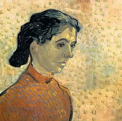 Little Master Painting - The Little Arlesienne by Vincent van Gogh
