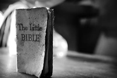 Photograph - The Little Bible  by Kelly Hazel