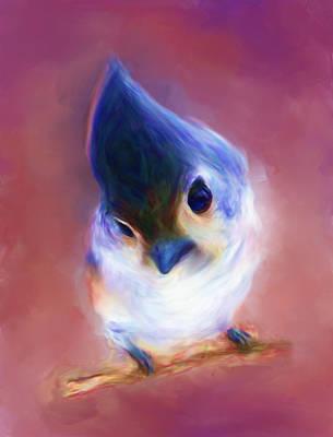 The Little Bird Art Print by Dhouib Skander