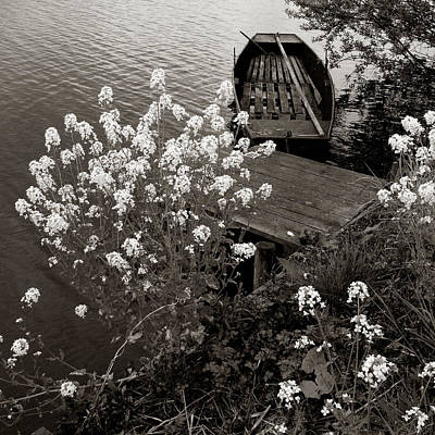 Photograph - The Little Boat by Cornelis Verwaal