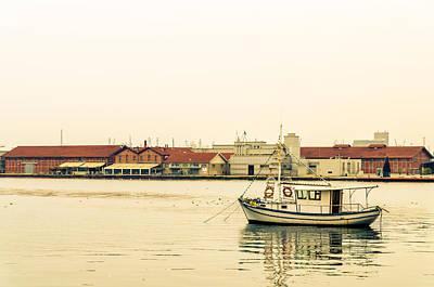 Photograph - The Little Boat. by Slavica Koceva