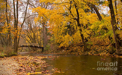 Photograph - The Little Bridge Over Valley Creek by Rima Biswas